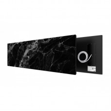 Black Marble 625 Watt stone art panel Welltherm